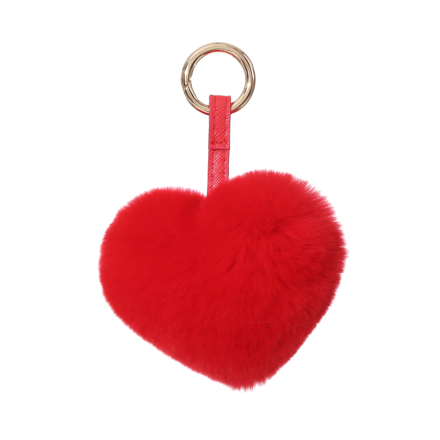 REX HEART KEYRINGRED