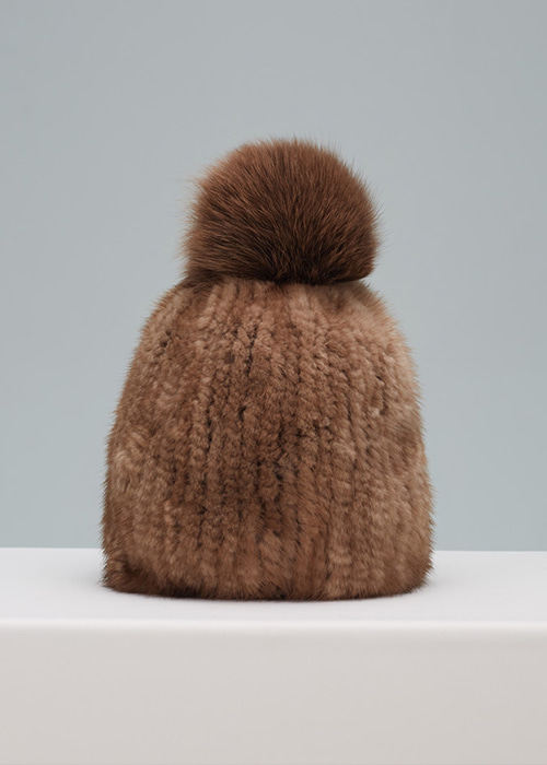 MINK HAT BROWN