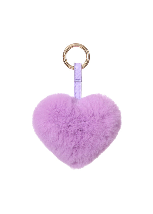 REX HEART KEYRINGBABY PURPLE